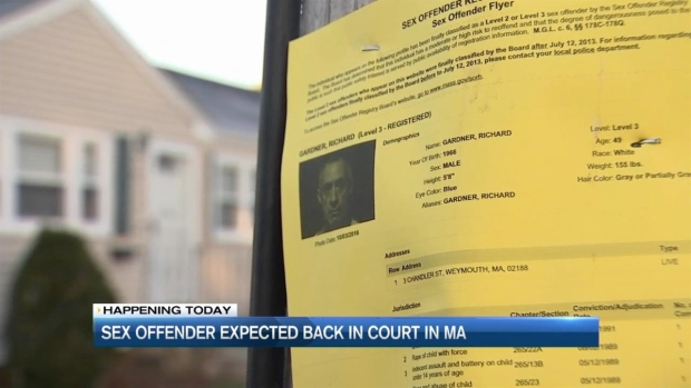[NECN] Level 3 Sex Offender Released in Error Due in Court