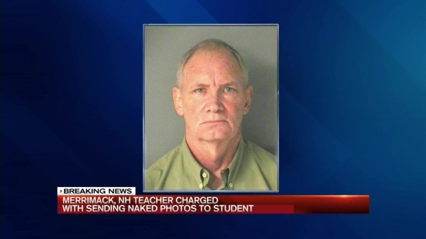 [NECN] NH Teacher Charged With Swapping Naked Images With Student
