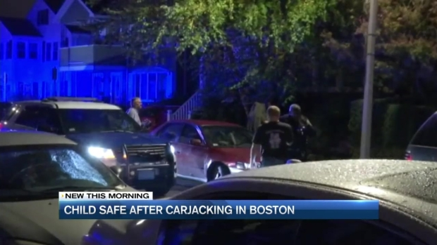 [NECN] Stolen Car With Baby Inside Found at Boston Gas Station