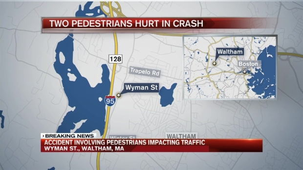 [NECN] Police Respond to Pedestrian Accident