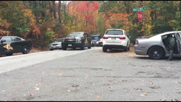 [NECN] Police Activity in Candia, New Hampshire
