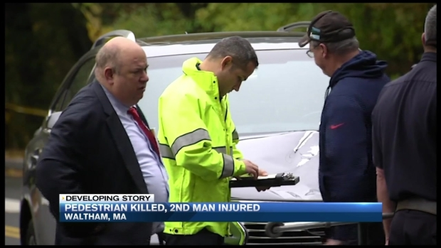 [NECN] Pedestrian Killed, Another Injured in Waltham, Mass.