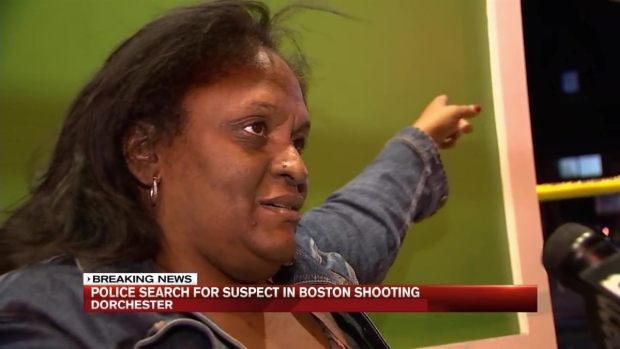 [NECN] Police Search for Suspect in Boston Shooting