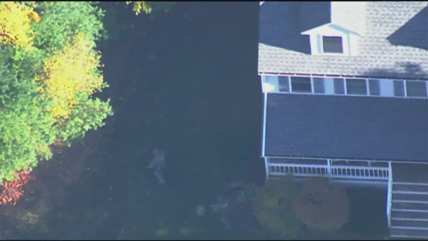 [NECN] Schools Locked Down as Police Search for Suspects in Armed Home Invasion