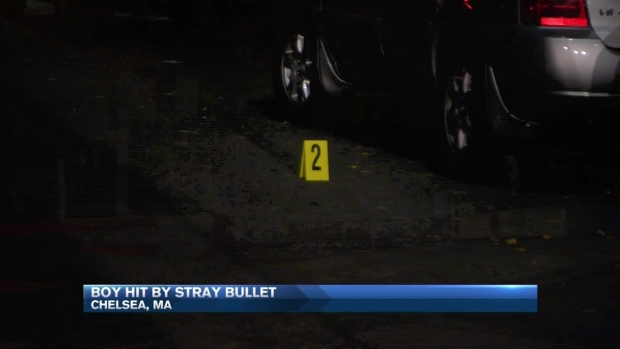 Sleeping Child Shot in Bed in Chelsea, Massachusetts