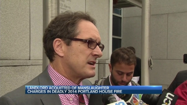 [NECN] Landlord Acquitted of Manslaughter in Deadly Fire