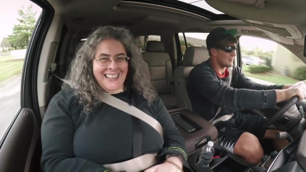 Rob Gronkowski Goes Undercover for Lyft