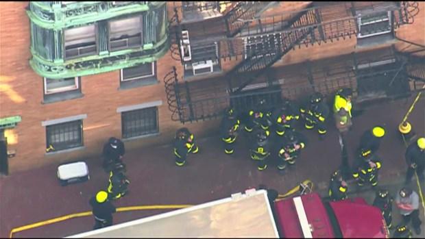 [NECN] Vehicle Crashes Into Boston Building