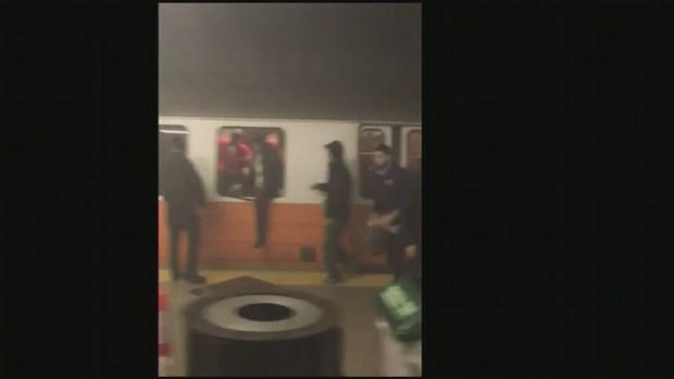 [NECN] Passengers Evacuated from Orange Line Train at Back Bay Station