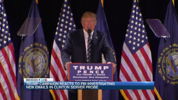 Trump Campaign Reacts to Clinton Email Investigation