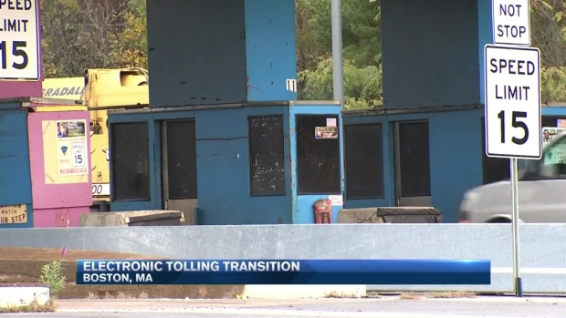 Conversion to Electronic Tolls Now Underway