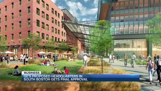 [NECN] General Electric Boston Headquarters Approved