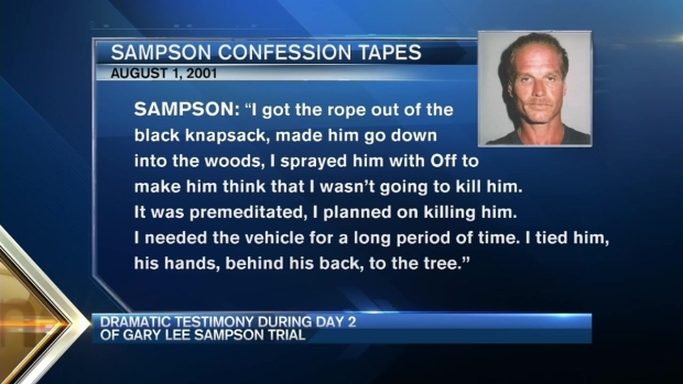 [NECN] Dramatic Testimony in Day 2 of Gary Lee Sampson Trial