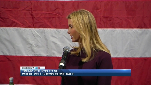 [NECN] As Race Tightens, Trump Campaigns in New Hampshire on Friday