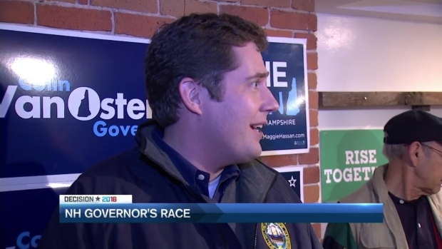 [NECN] New Hampshire Gubernatorial Candidates Make Final Pitches to Voters
