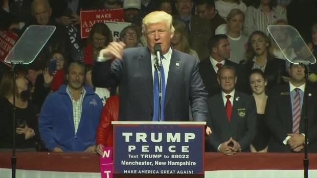 [NECN] Trump Reads Belichick's Letter of Praise