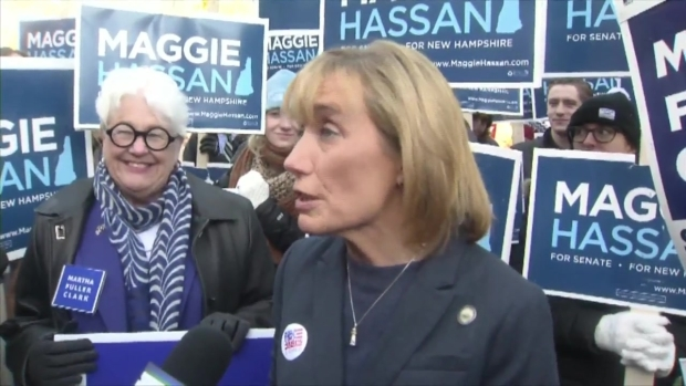 [NECN] Hassan, Ayotte Facing Off in NH Senate Race