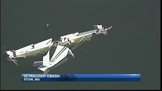 [NECN] Ultralight Plane Crashes Into Assabet River in Mass.