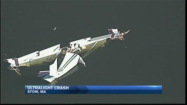 [NECN] Ultralight Plane Crashes Into Assabet River in Mass.