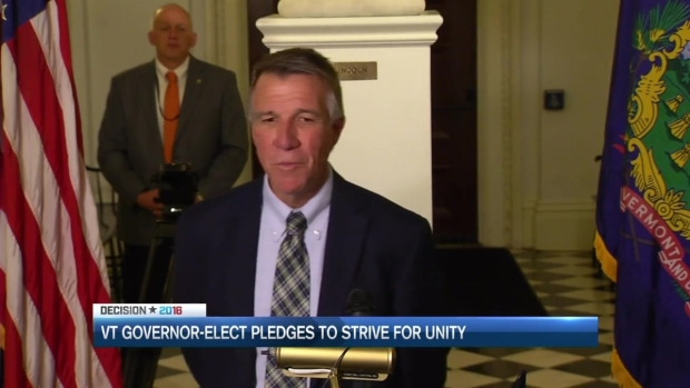 [NECN] Gov.-Elect Seeks to Unify Vermont