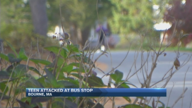 [NECN] Teen Attacked at Bus Stop