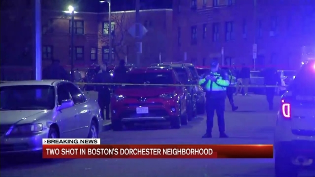 [NECN] 2 Shot in Boston's Dorchester Neighborhood