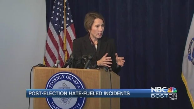 [NECN] Massachusetts Attorney General Launches Hotline to Report Harassment