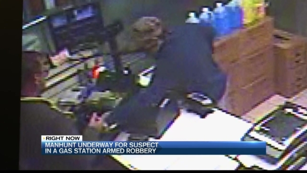 [NECN] Surveillance Video Released in Gas Station Robbery