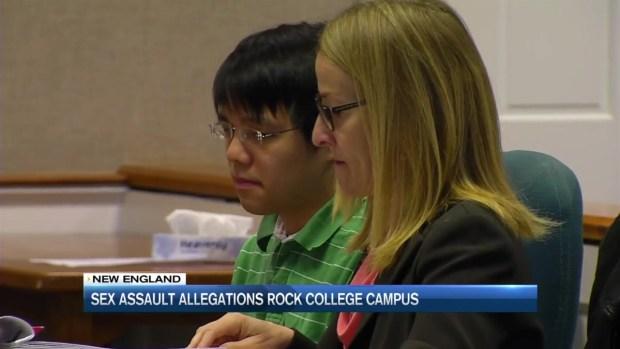 [NECN] Sex Assault Allegations Rock College Campus