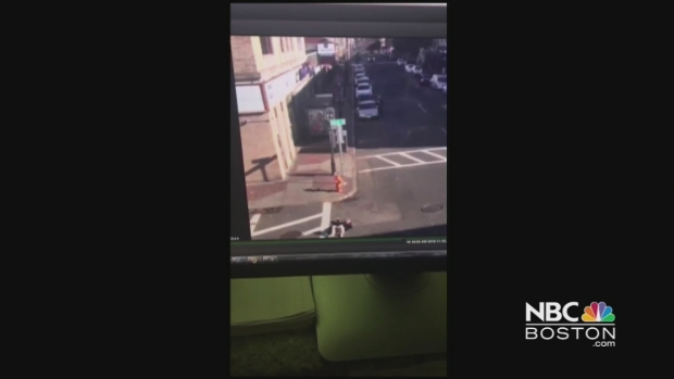 [NECN]Driver Hits Pedestrian in Chelsea, Mass.