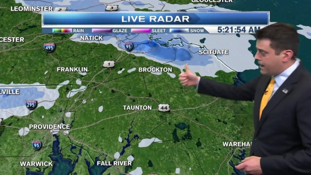 [NECN] Weather Forecast: Some Morning Snow