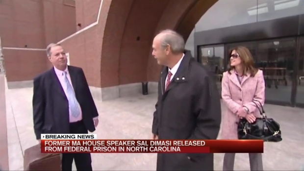 [NECN] Ex-Speaker DiMasi Released From NC Federal Prison
