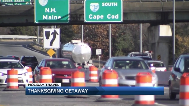 [NECN] Pre-Thanksgiving Traffic