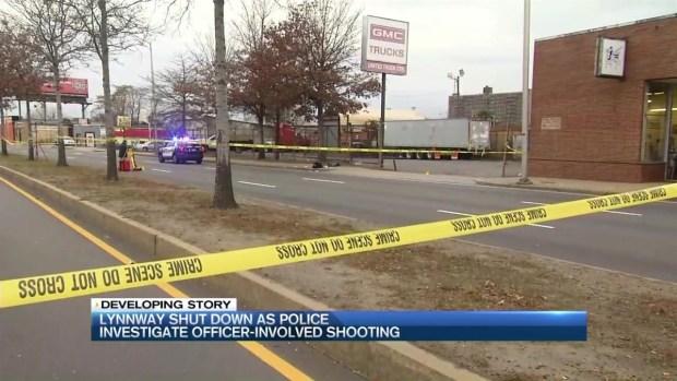 [NECN] Suspect Shot in Officer-Involved Shooting in Lynn