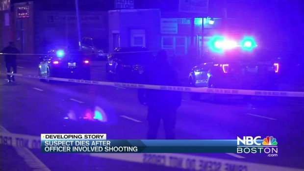 [NECN] Suspect Dies After Officer-Involved Shooting