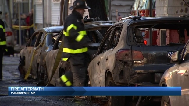[NECN] Cambridge Fire Investigation Continues