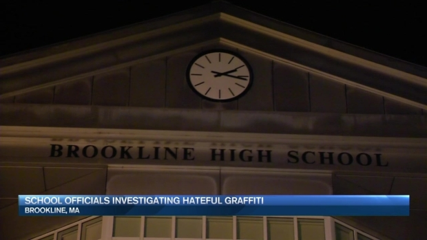 [NECN] Another Swastika Drawn on Campus at Brookline School