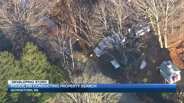 [NECN] Police, FBI Conducting Property Search in Georgetown, Mass.