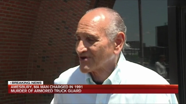 [NECN] Bulger Victim Charged in 1991 Murder of Armored Truck Guard