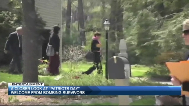 [NECN] A Closer Look at 'Patriots Day' Welcome From Bombing Survivors