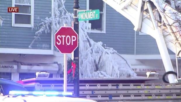 [NECN] Crews Battle 6-Alarm Fire in Boston