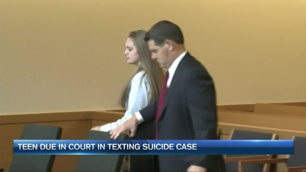 [NECN] Pretrial Hearing in Mass. Texting Suicide Case