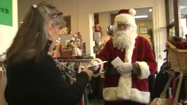 [NECN] Maine Secret Santa Hands Out Thousands of Dollars