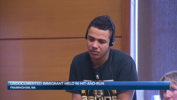 [NECN] Suspect Held on Bail in Hit-and-Run