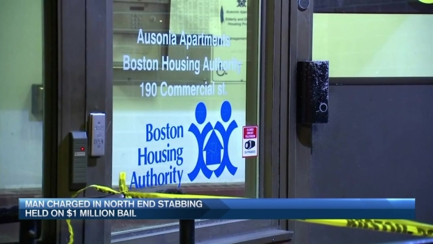 [NECN] Man Charged in North End Stabbing Held on $1M
