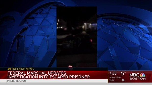 [NECN] US Marshals: Escaped Inmate May Be Wounded