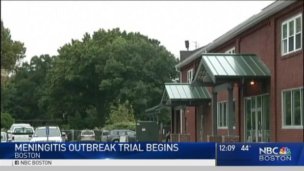 [NECN] Trial Starts Over Meningitis Outbreak That Killed 64