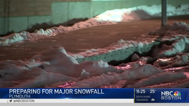 [NECN] Southeastern Mass. Preparing for Blizzard Conditions