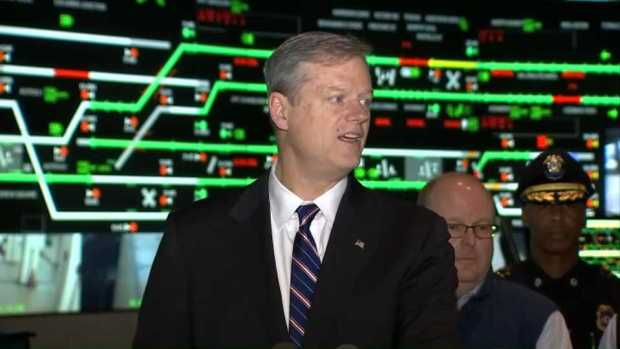 [NECN]'Don't Crowd the Plow': Governor Baker, State Officials Speak on Storm Response