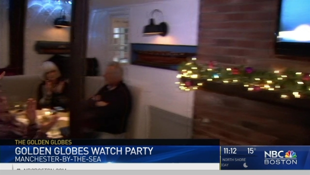 [NECN] Manchester-by-the-Sea Locals Host Golden Globes Watch Party
